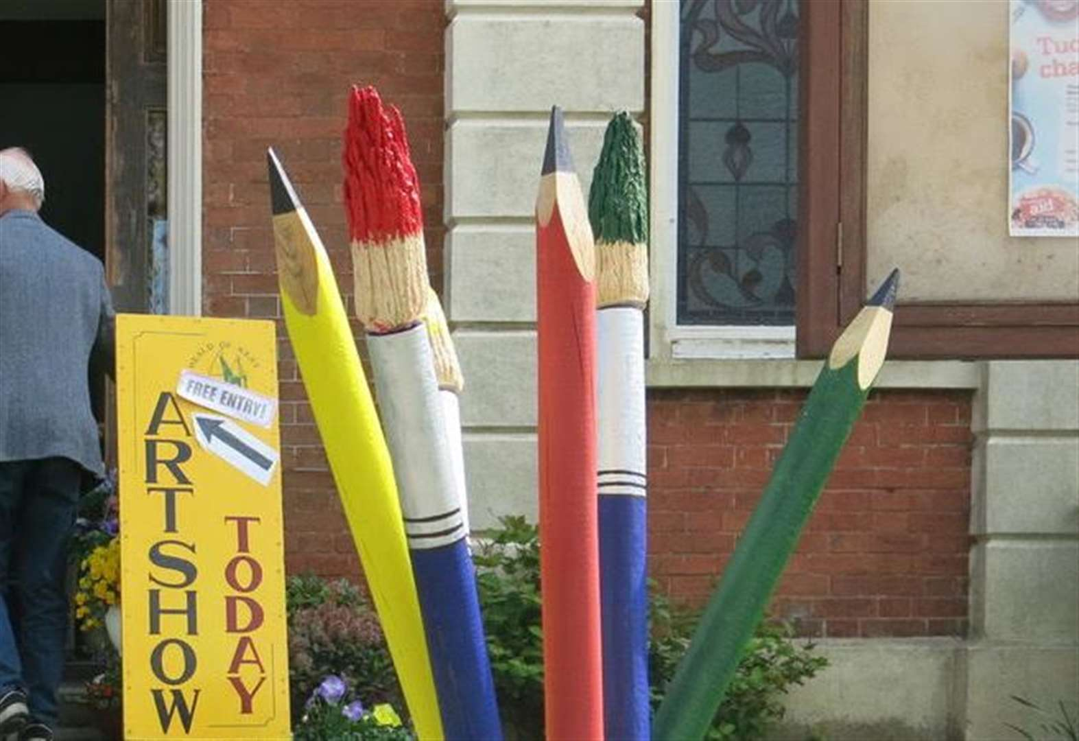 Tale of the giant pencil theft comes to a point