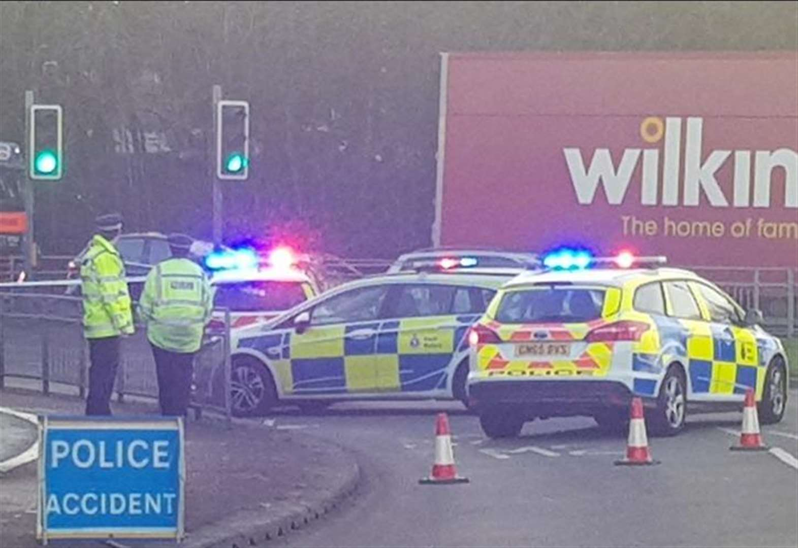 Crash causes major A2 delays
