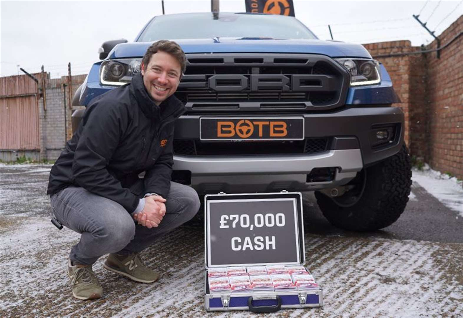 Maintenance worker wins dream truck and £70k