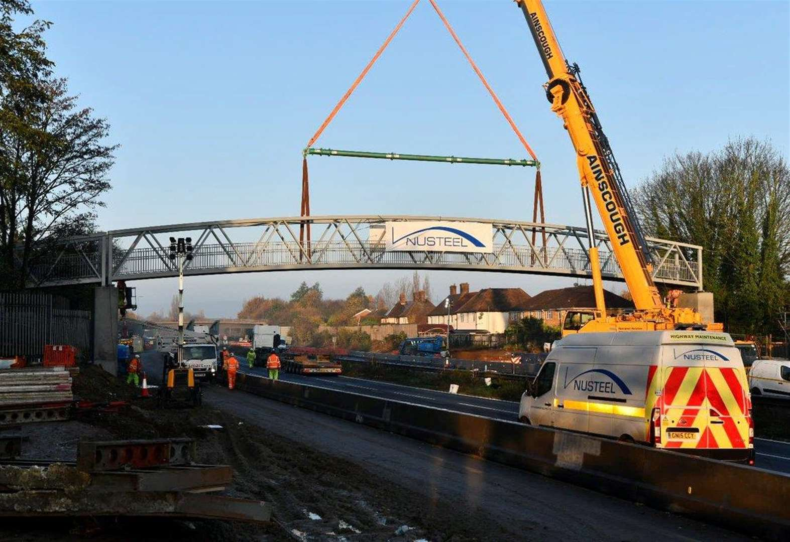 M20 closed for bridge replacement works