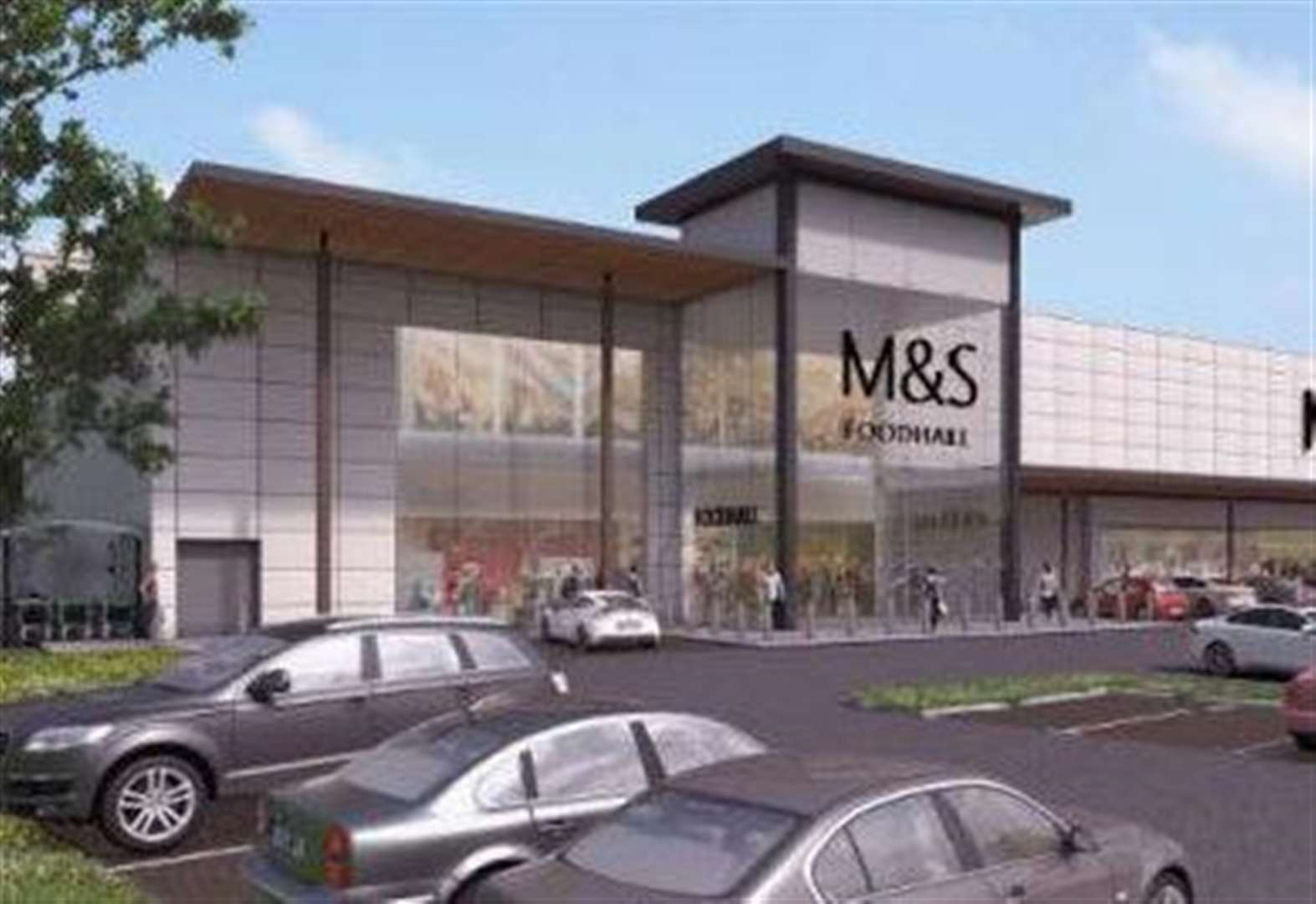 Giant M&S store gets the green light