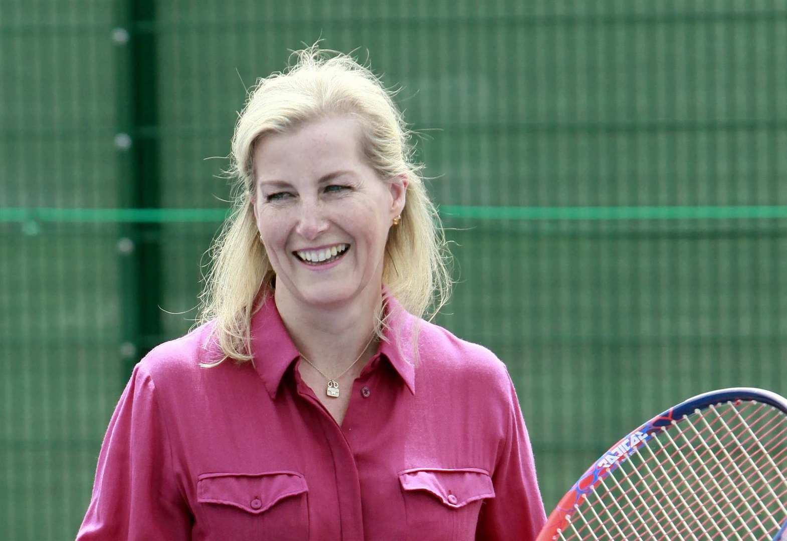 Anyone for tennis? Royal opens sports centre