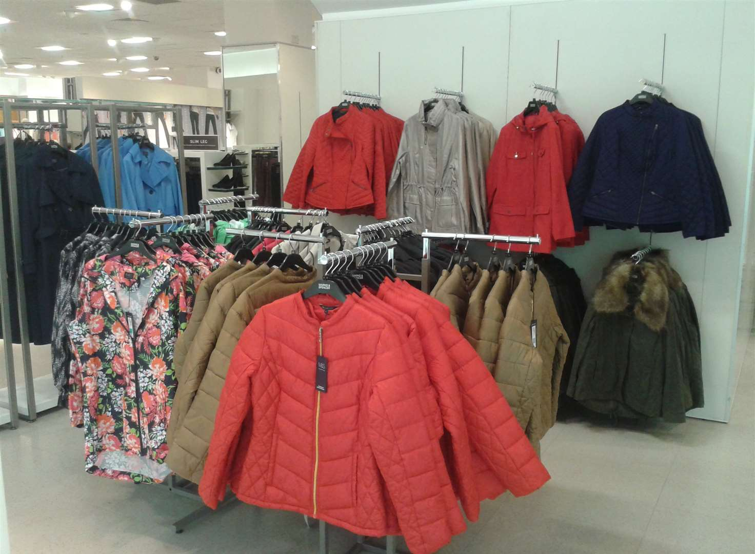 'Winter' coats go on sale as temperatures rocket