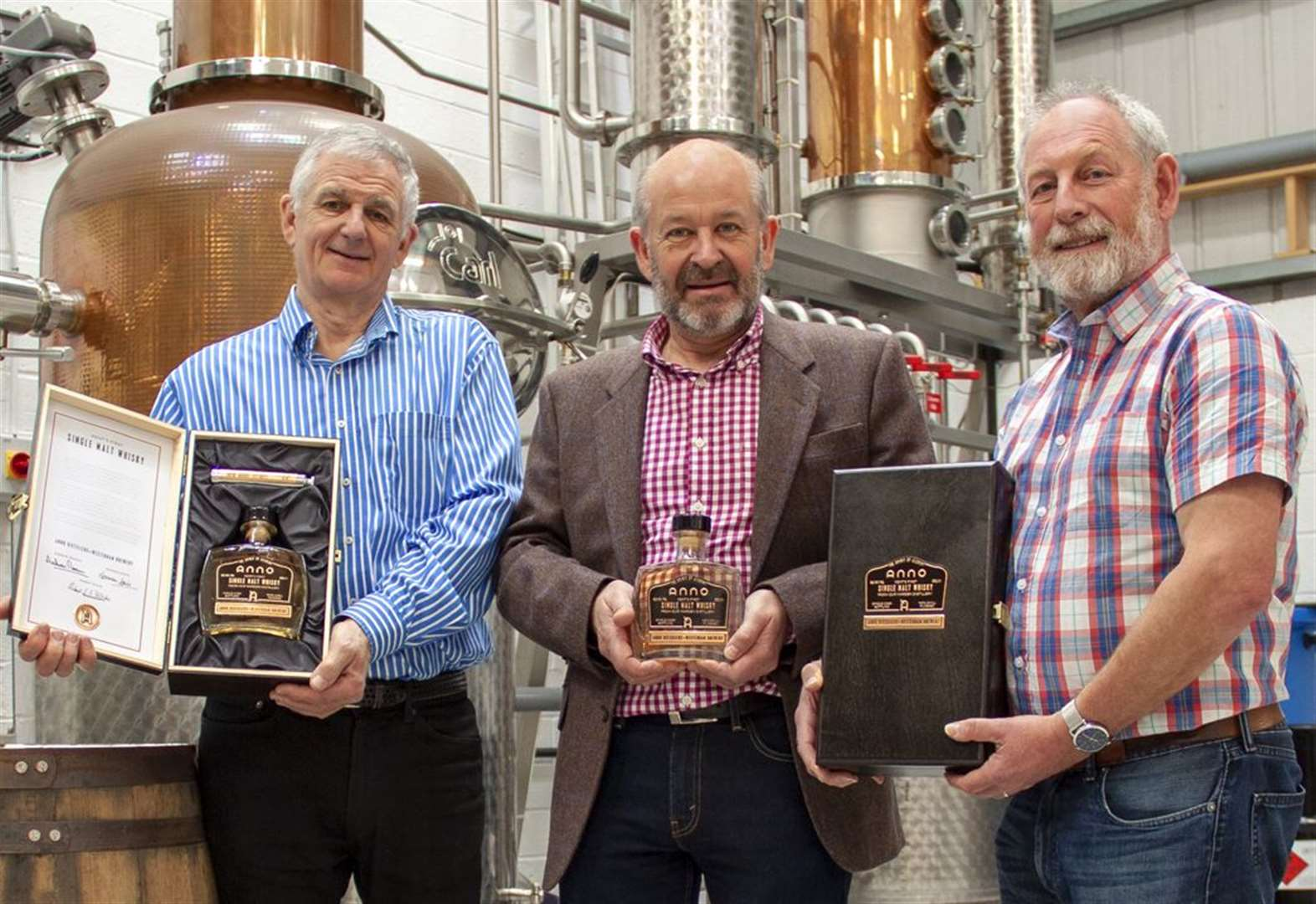 First ever whisky made in Kent