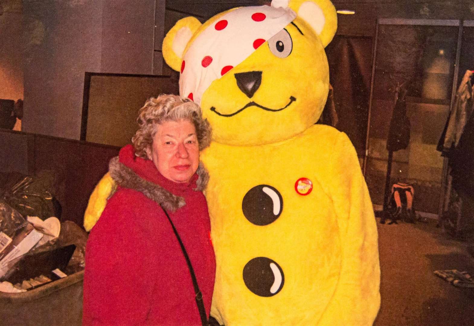Woman who inspired Children in Need has died