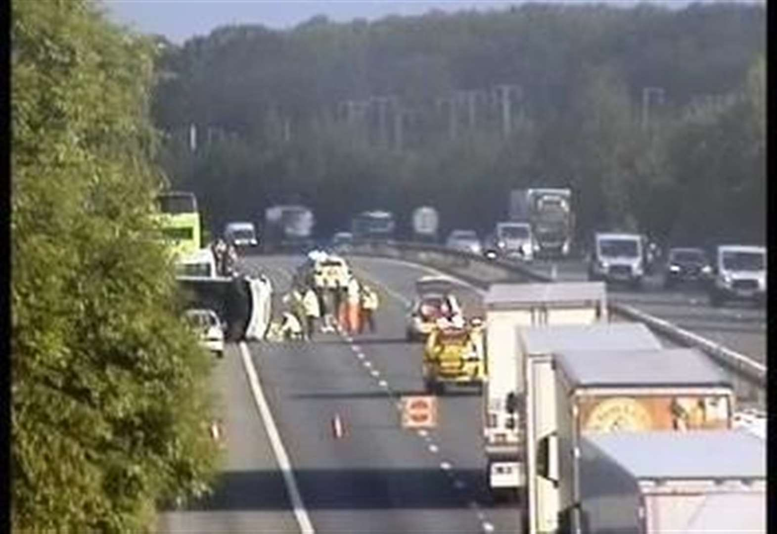 M20 reopens after crash