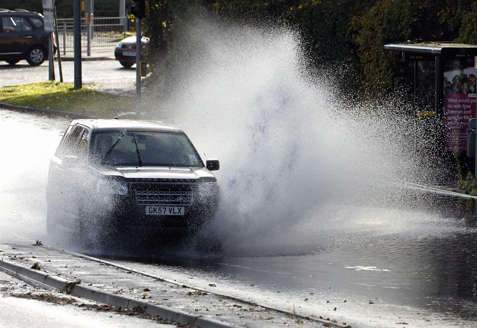 Weather warning as heavy rain hits Kent