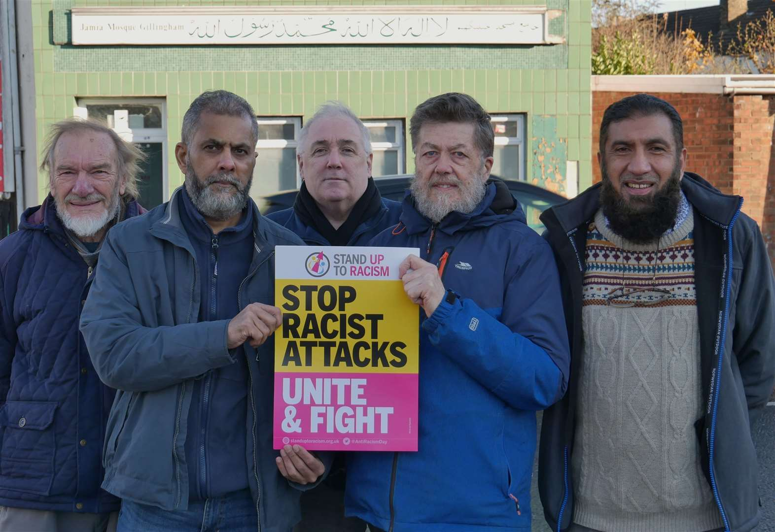 Plea for unity after racist attacks