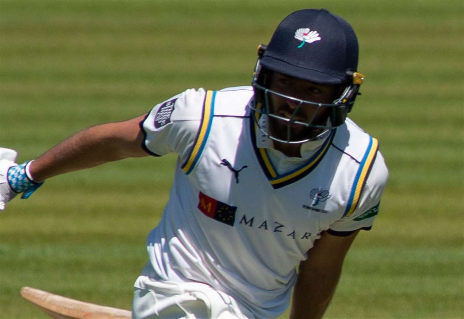 Jack Leaning hits unbeaten century for Kent against Sussex