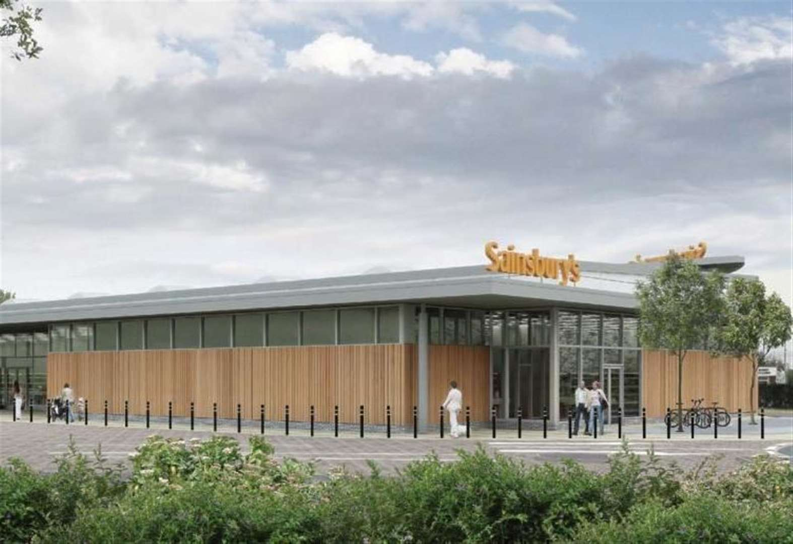Full speed ahead for new Sainsbury's