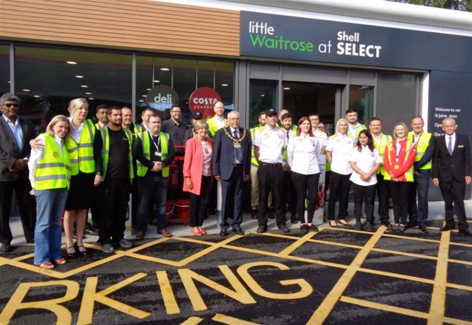 Town gets its long-awaited Waitrose