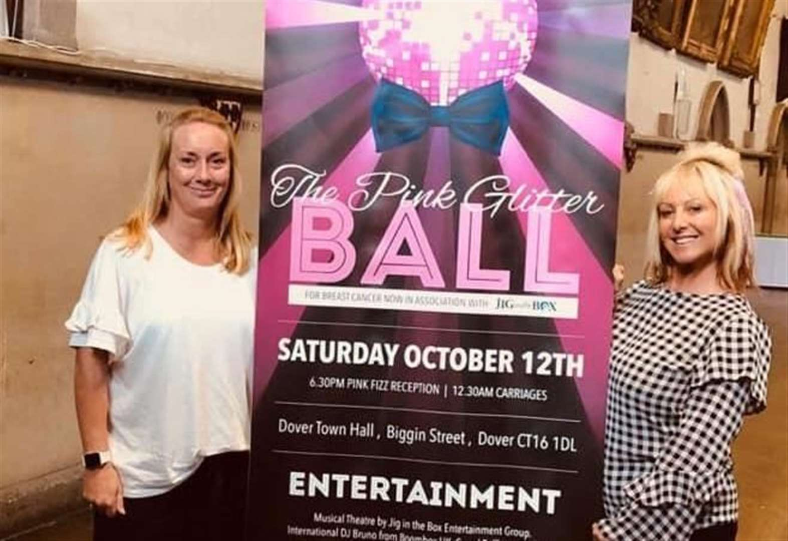 Charity's CEO accepts invite to breast cancer ball