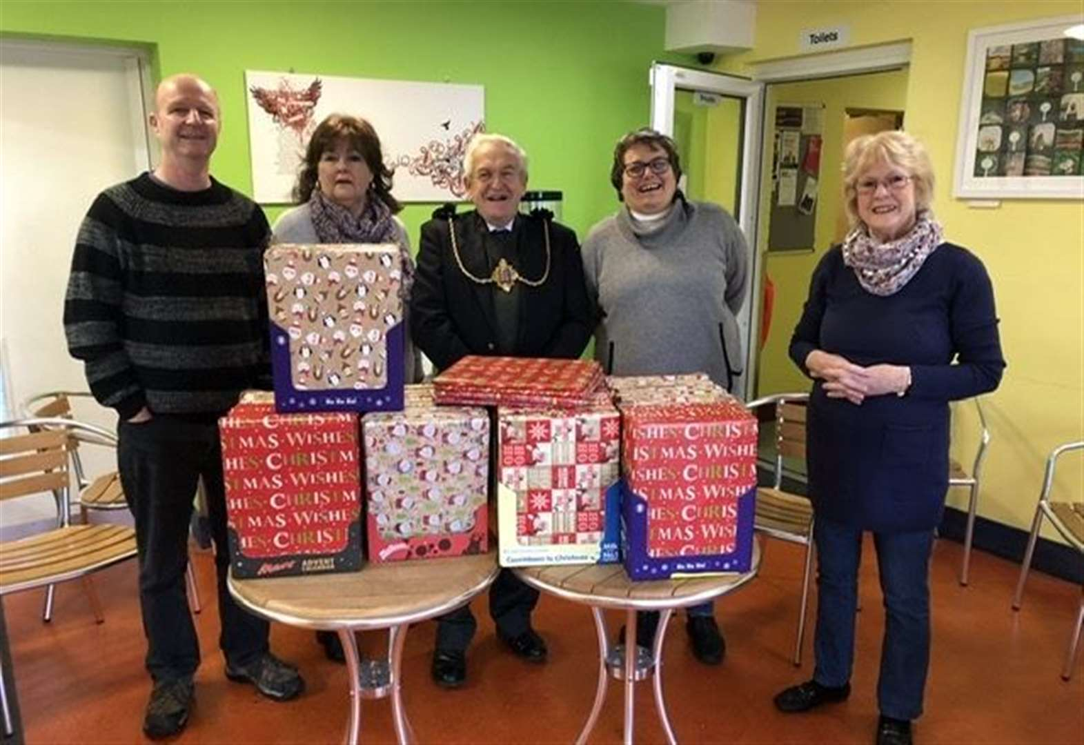 Sweet advent treats for foodbank kids