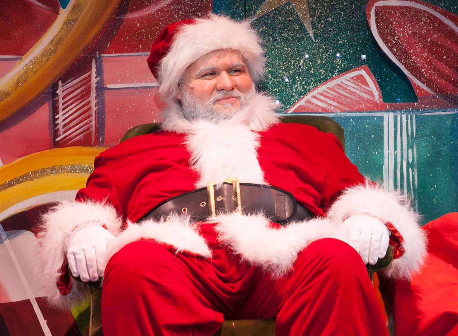 Santa ready to deliver in Miracle on 34th Street