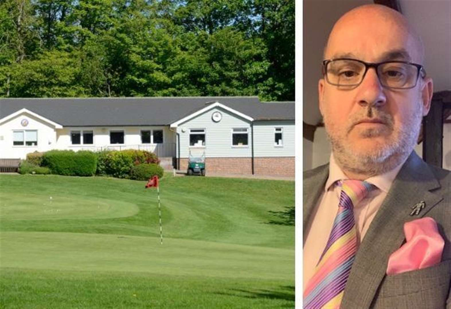 Golfer assaulted after row over 'near miss'
