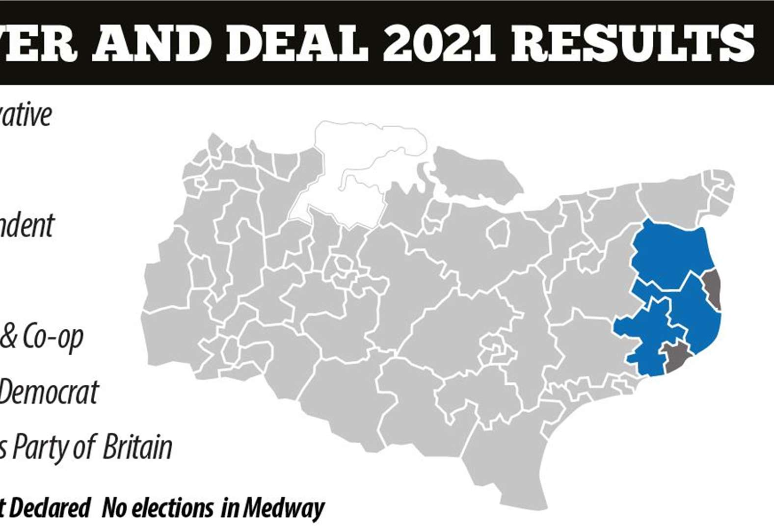 Full results from local election