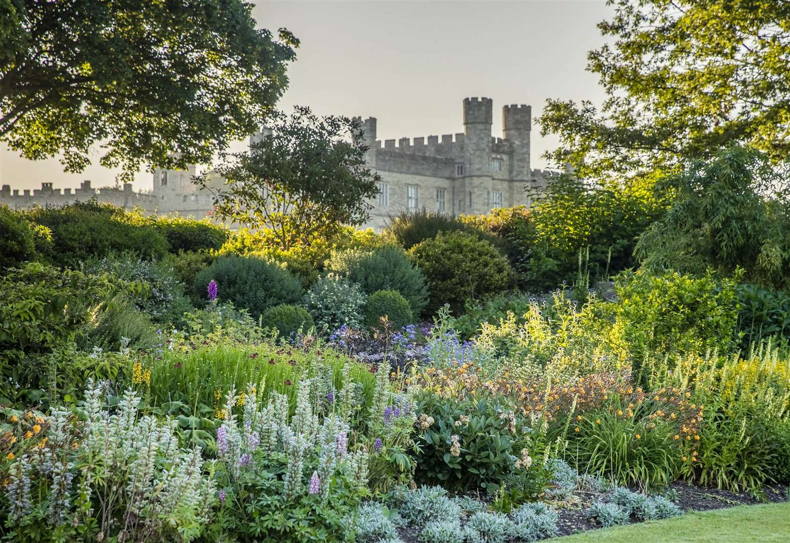 Garden party beckons at Leeds Castle