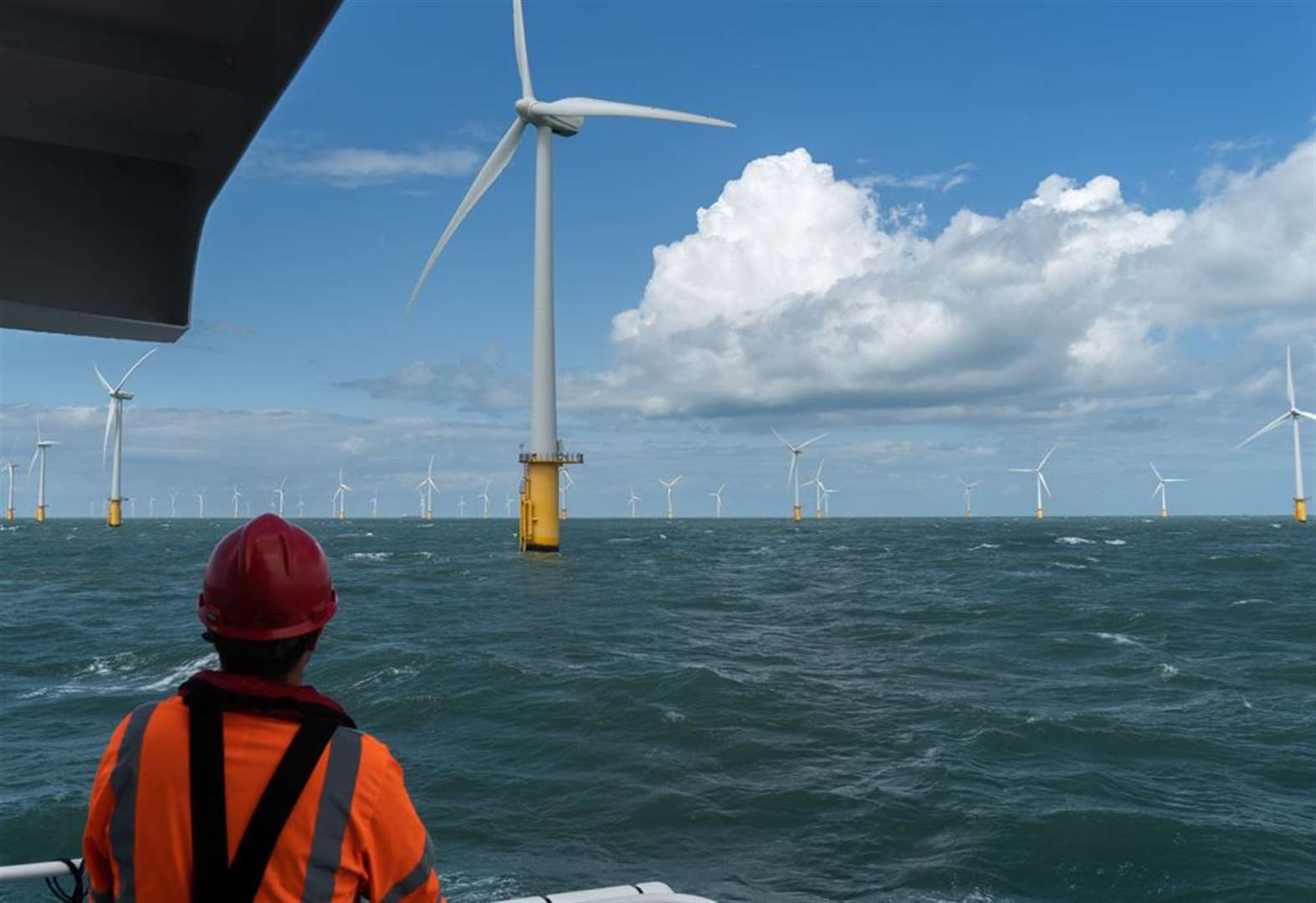 Workers who keep Kent's wind turbines turning
