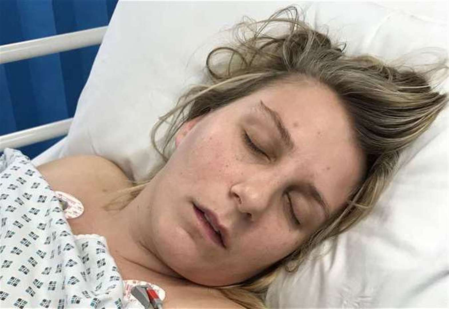 Mum suffers three heart attacks in a week