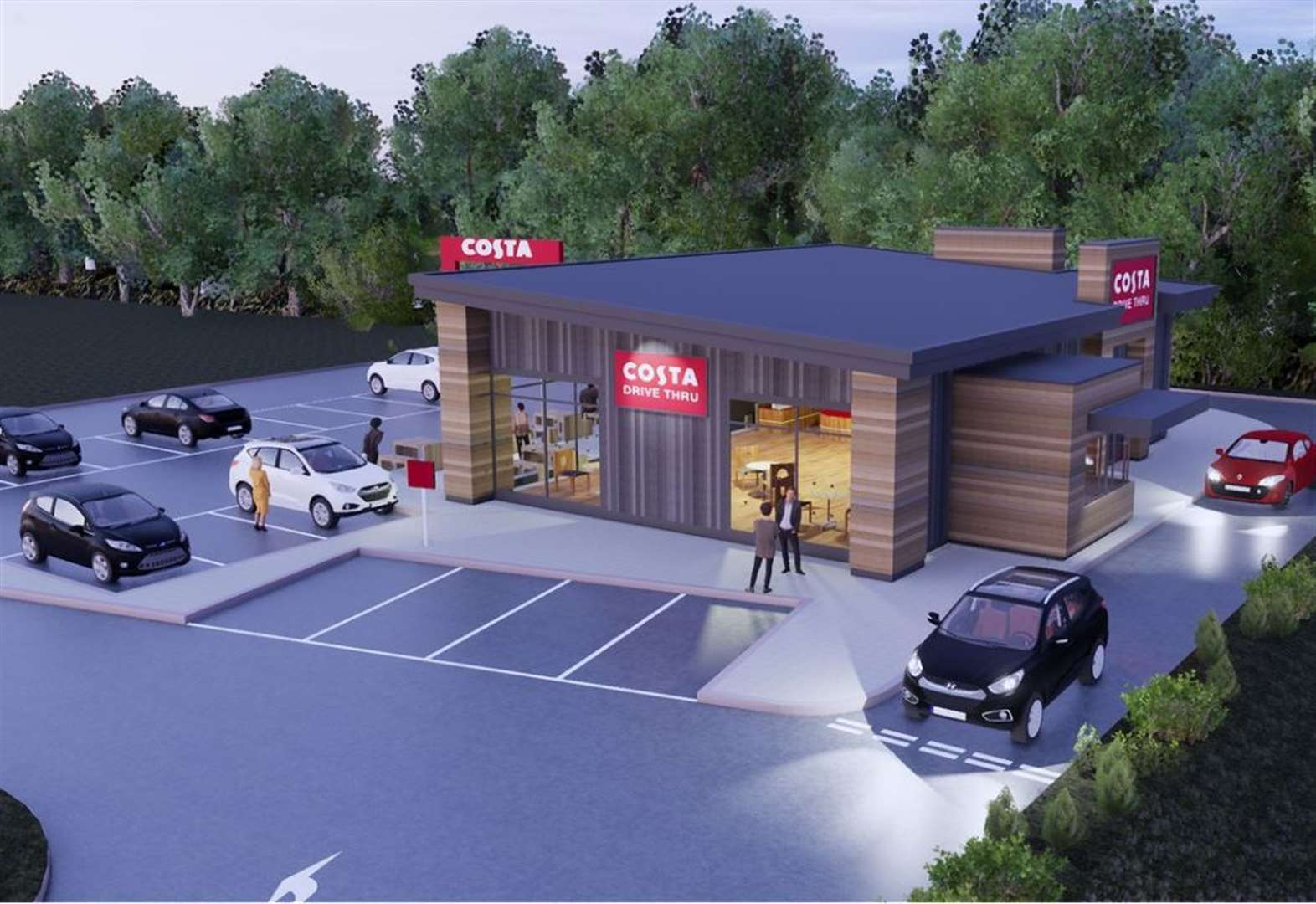 New Costa drive-thru decision due