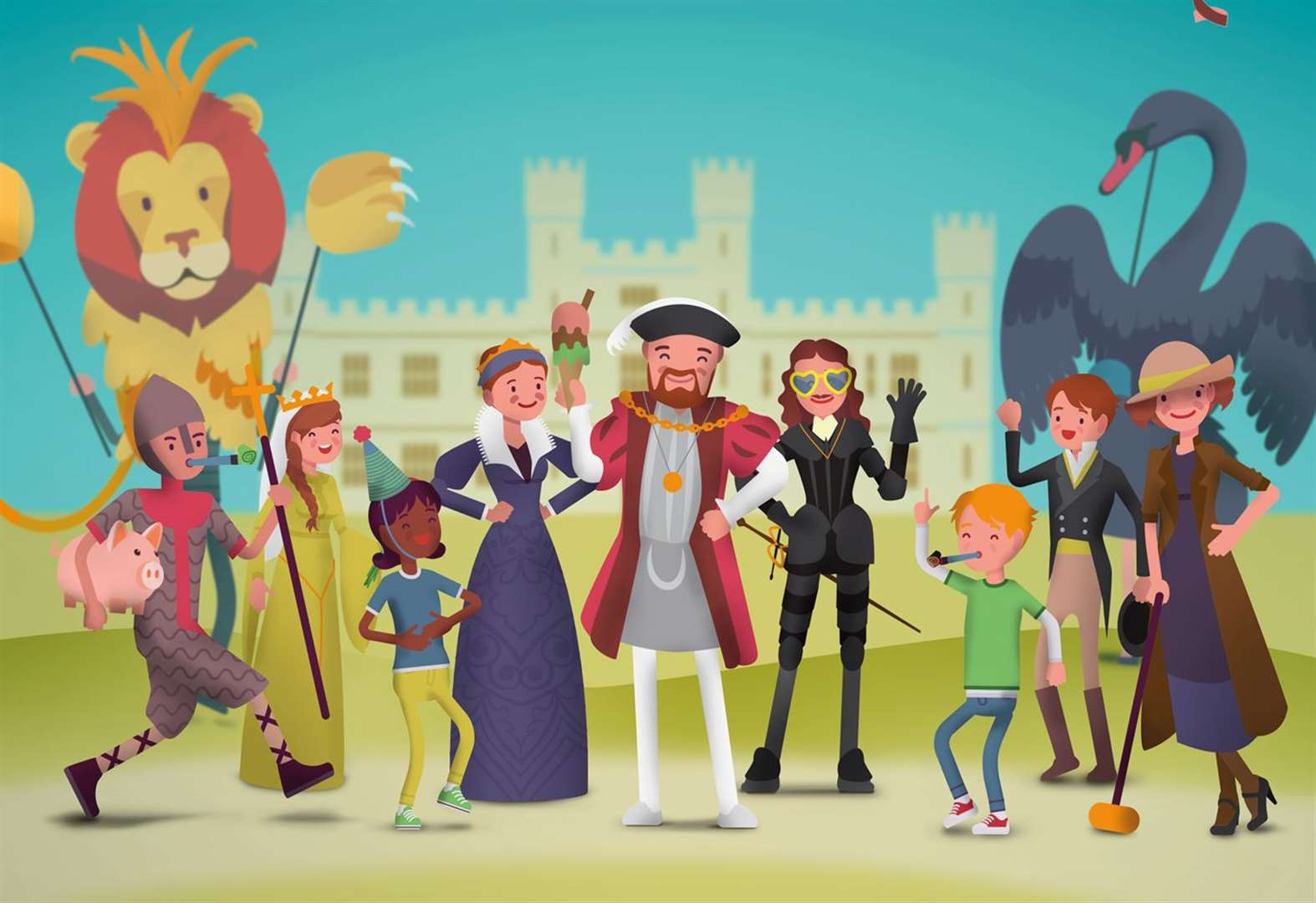 Life's a carnival this summer at Leeds Castle
