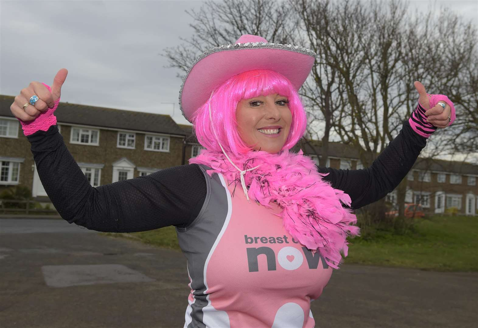 'If there's one month of the year to support Breast Cancer Now, it's this month'