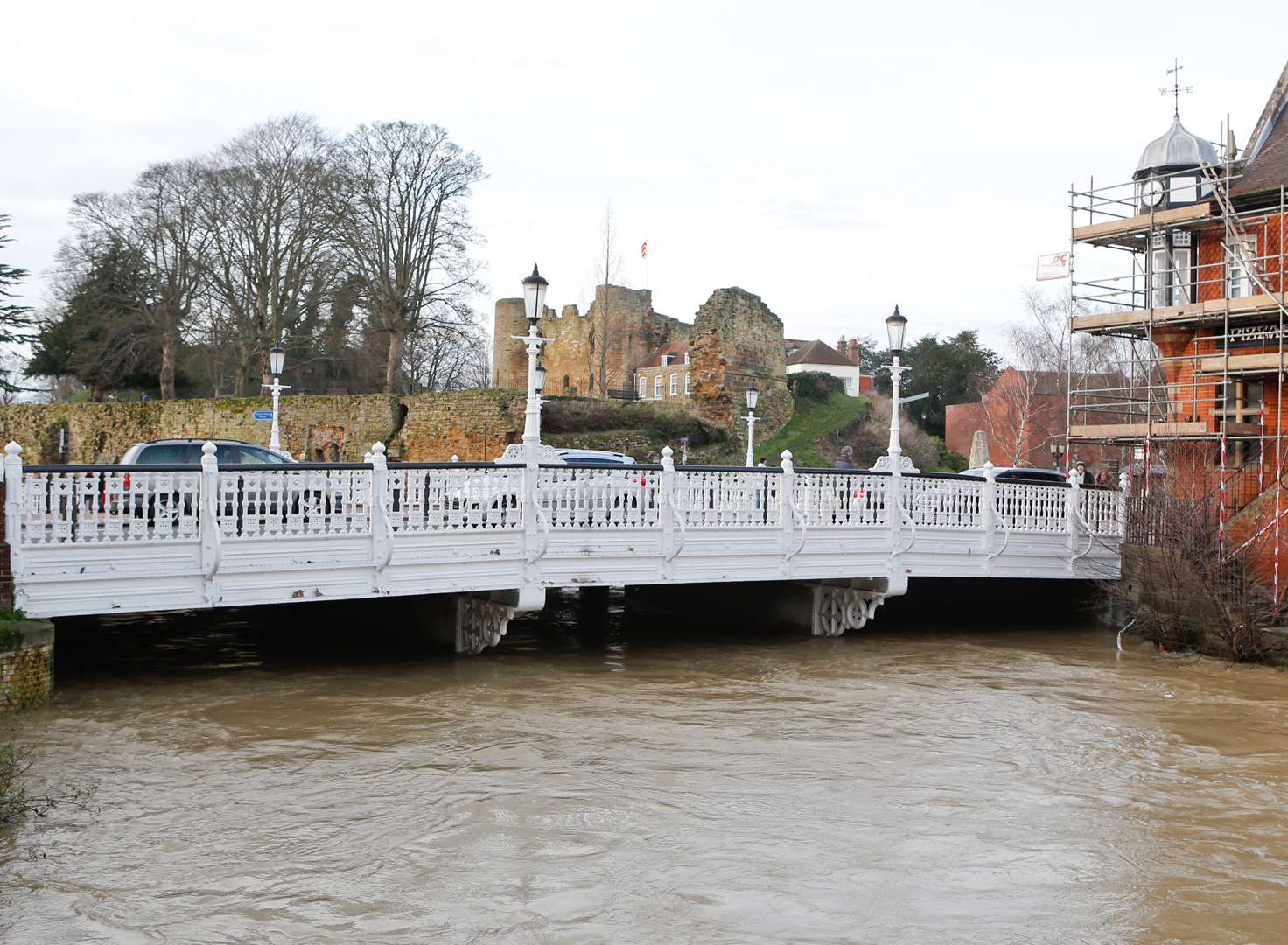 Flood wall planned for Tonbridge