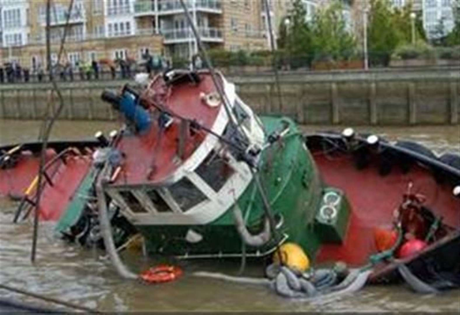 Tugboat captain on trial after engineer drowned