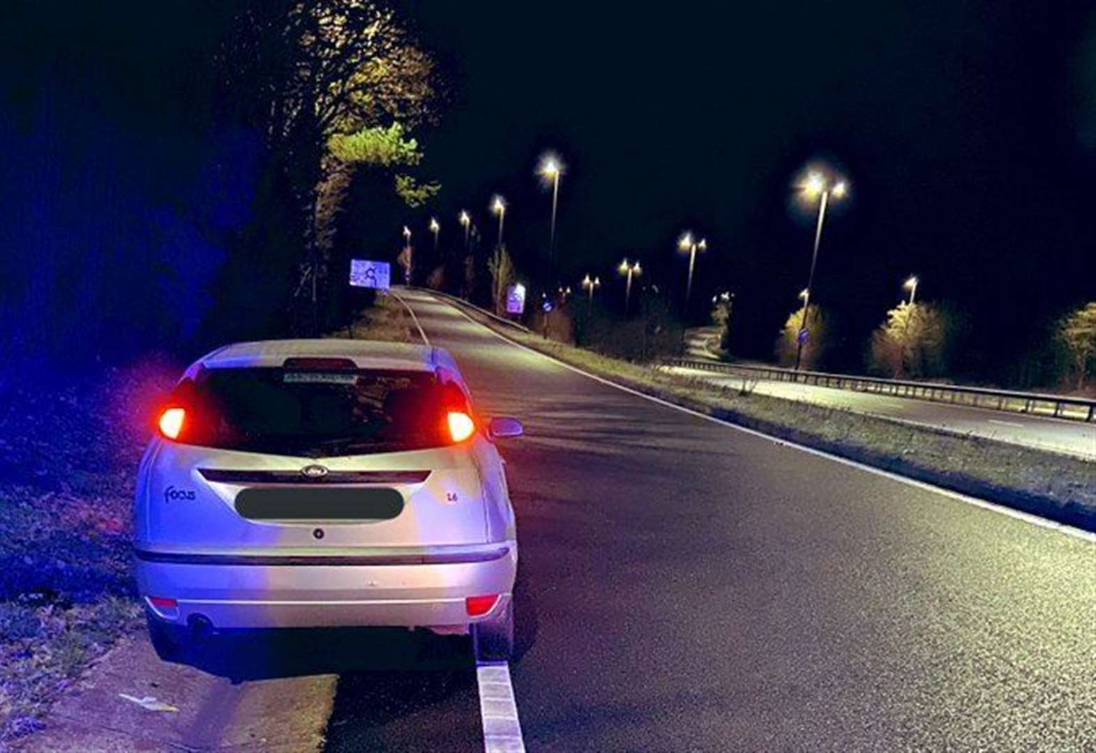 'Wrong way driver' charged by police