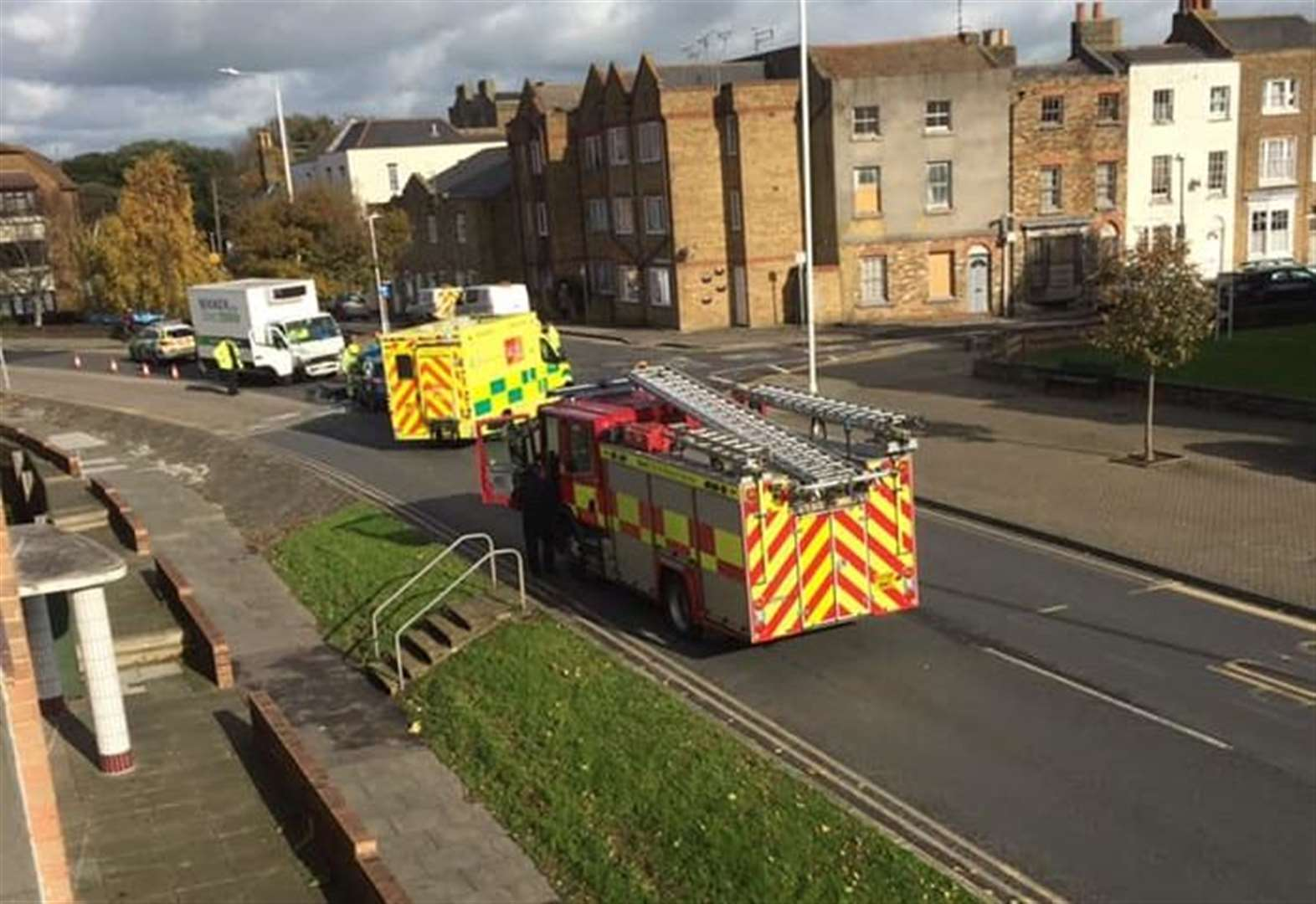 Roads shut due to serious crash