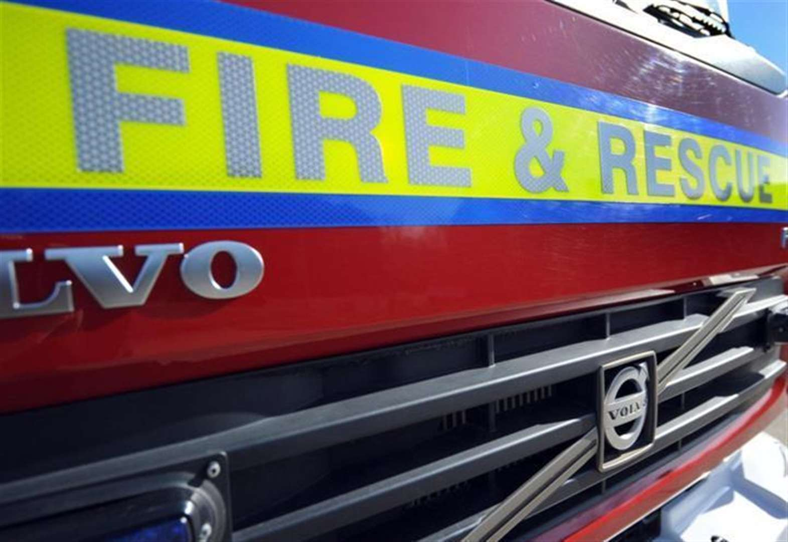 Homes left without power after garage blaze