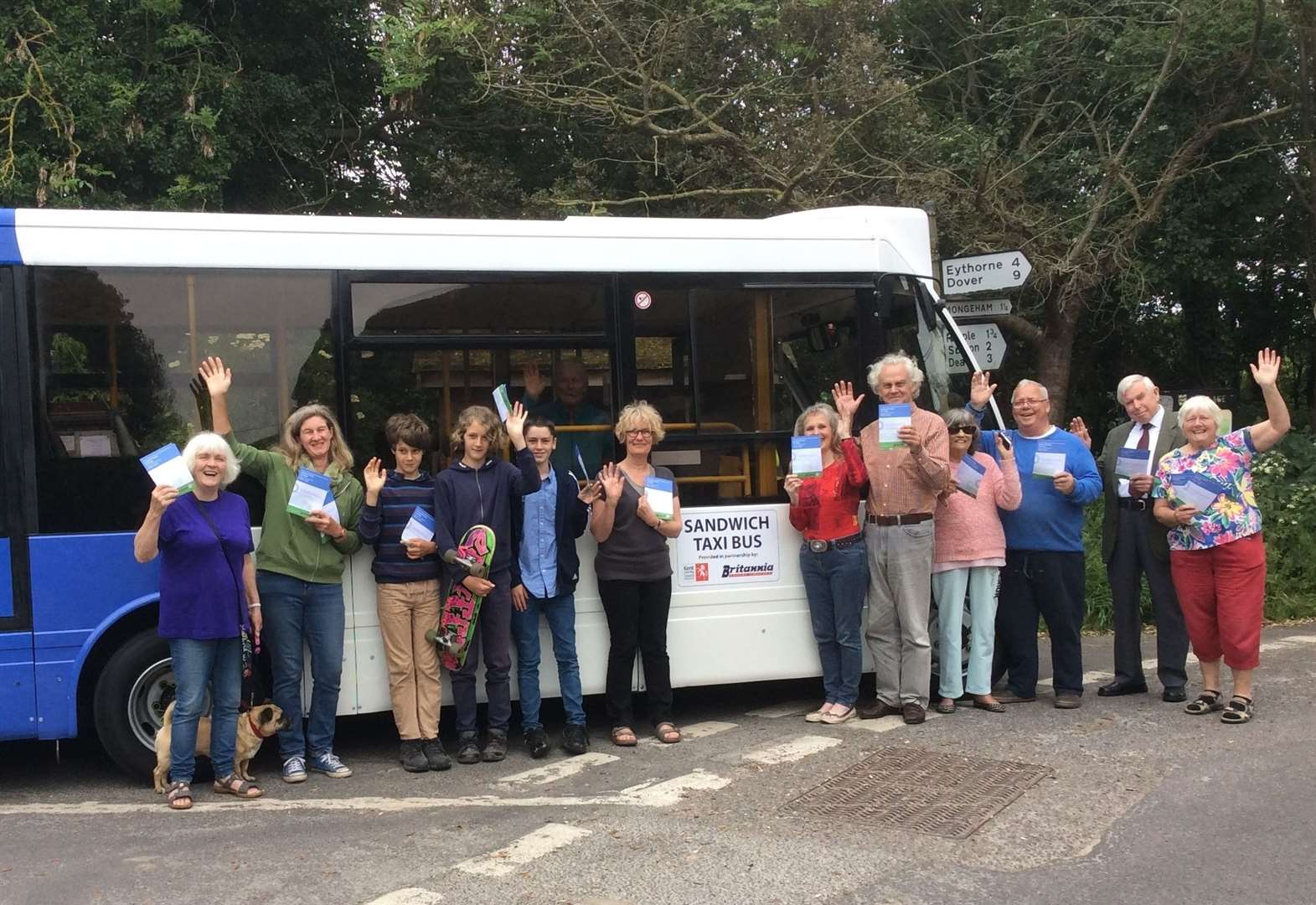 Triumph as residents secure new bus service