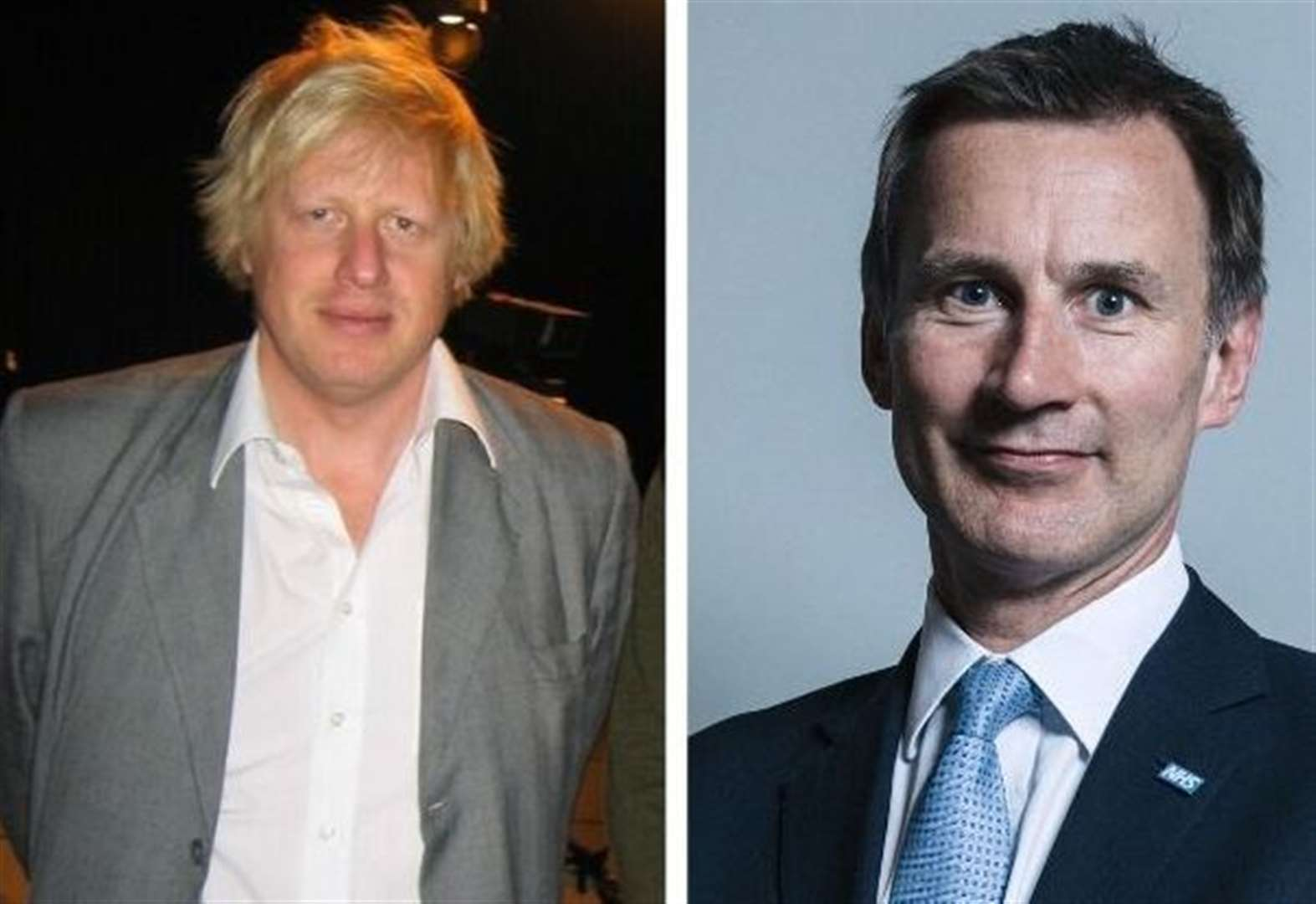 Johnson and Hunt in Kent for hustings