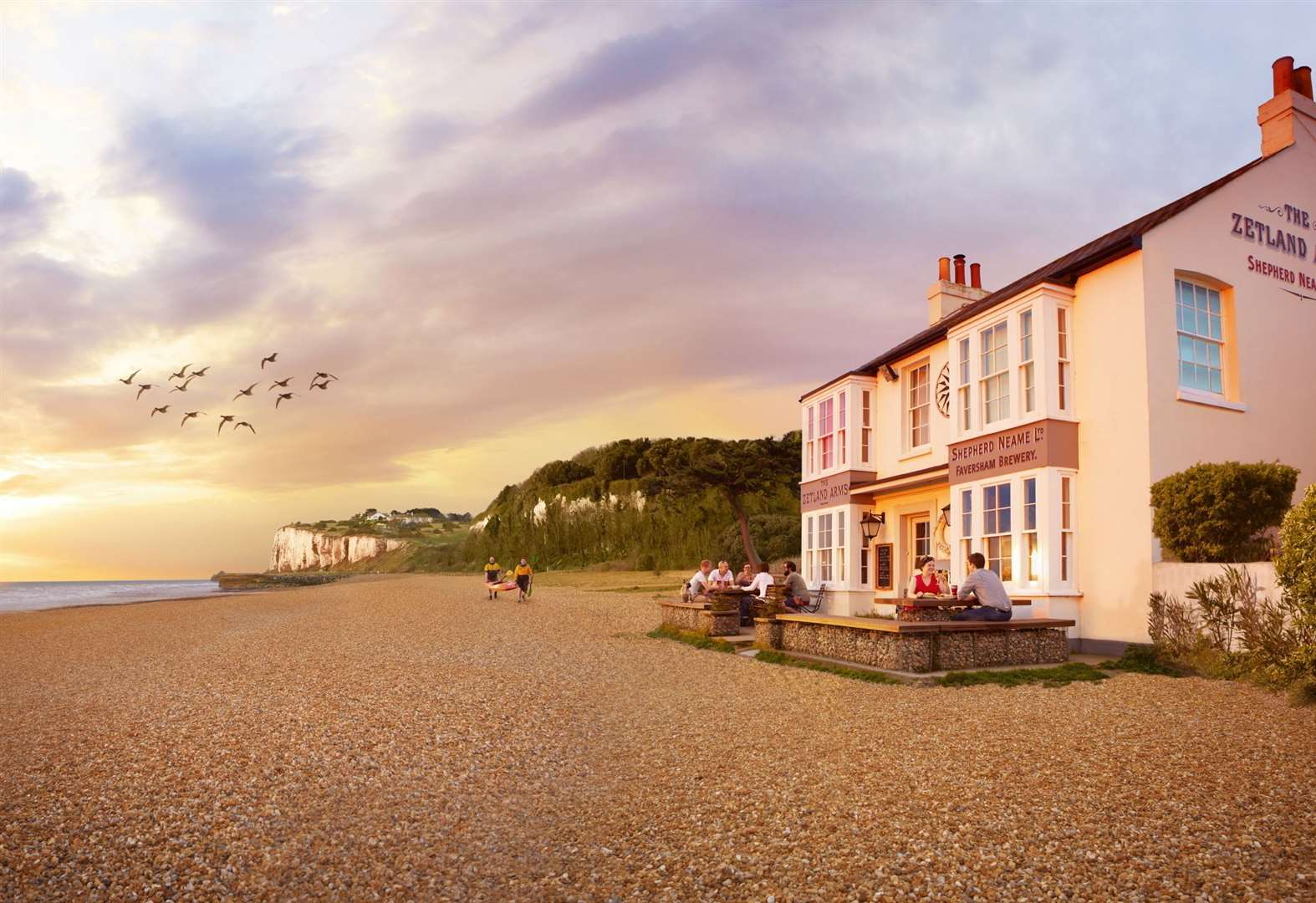 Kent's best pubs for waterside views