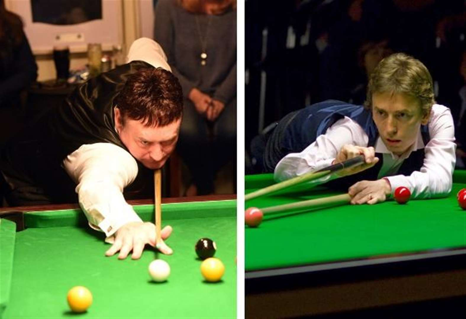 Snooker legends head to new club