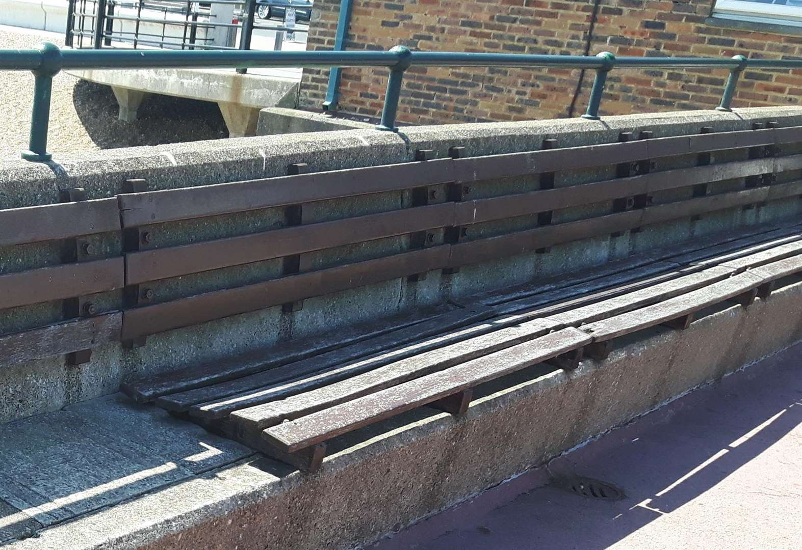 Landmark's old bench timbers available for upcycling