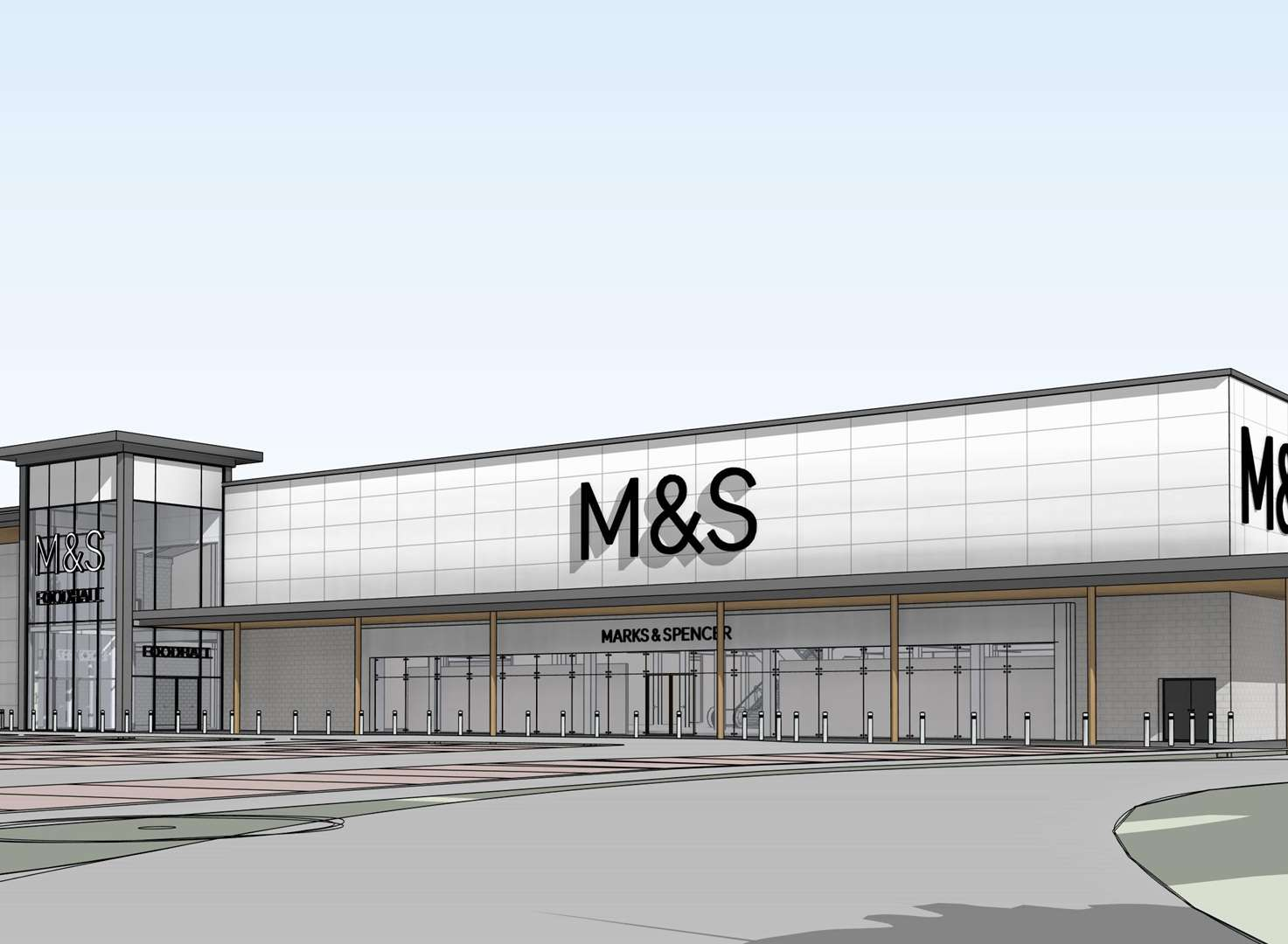 New M&S store plans go on show