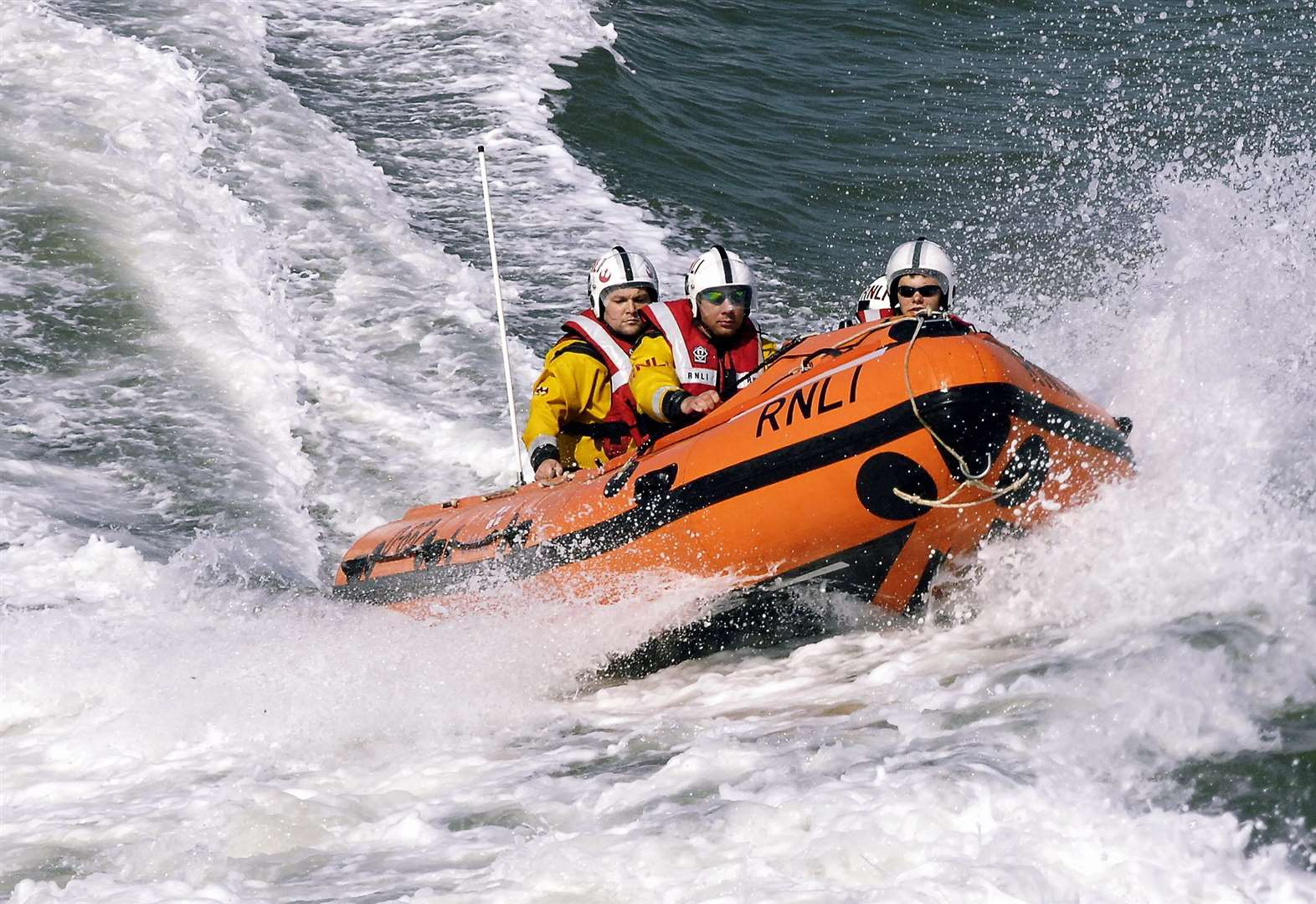 Lifeboats called out three times in one day