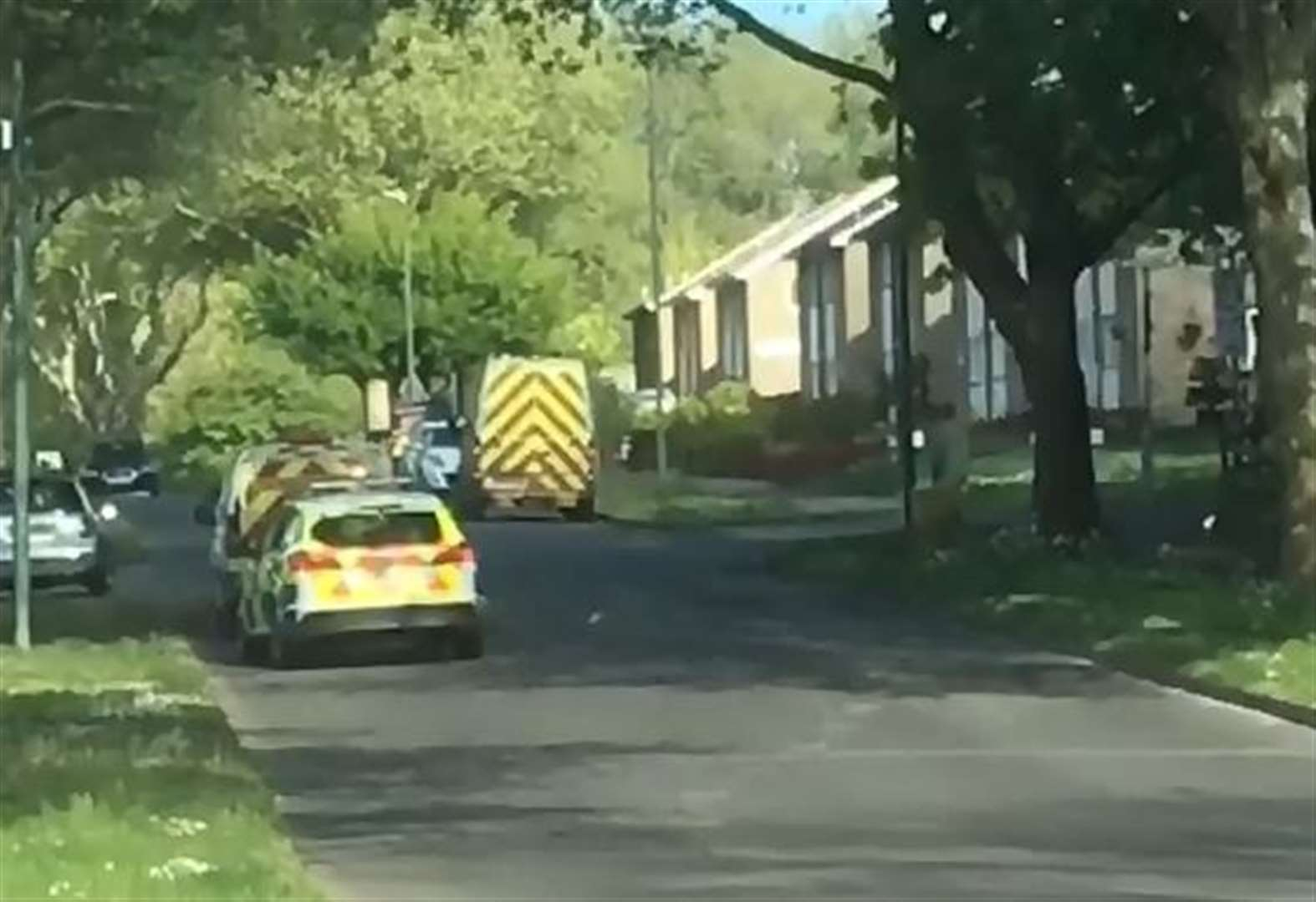 Man collapsed in street