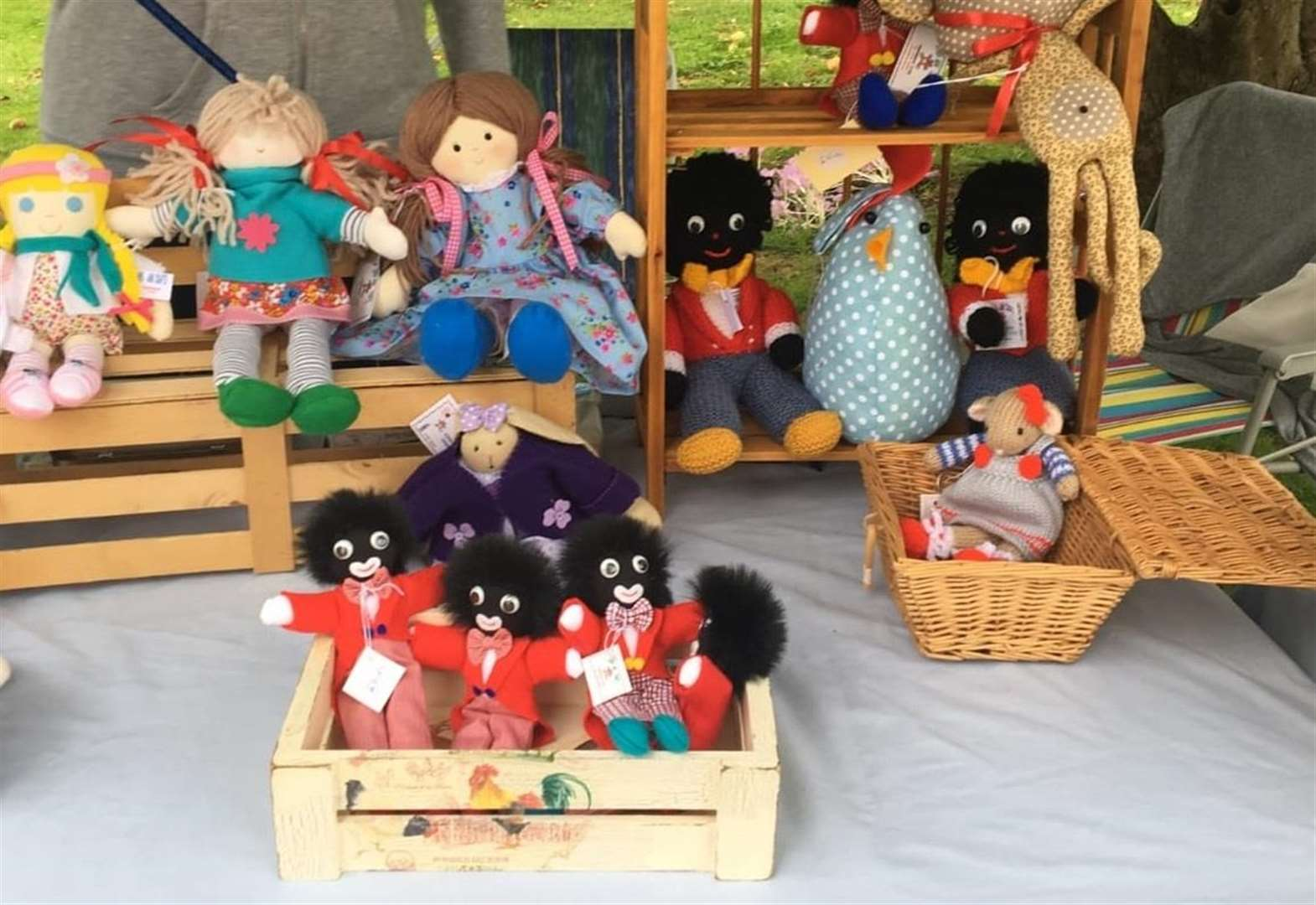 Charity event criticised for selling golliwogs