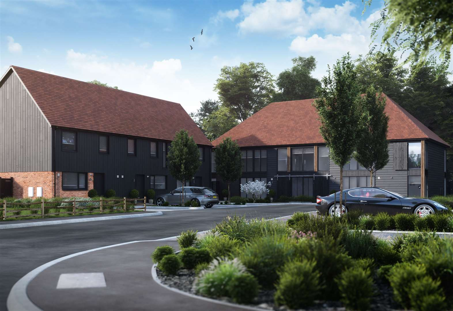 Brand new homes in one of Kent's most desirable villages.