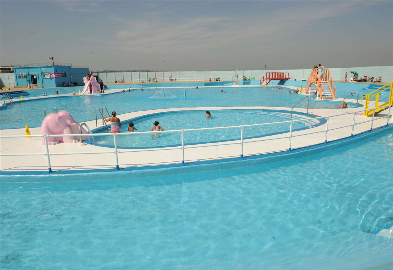 Much-loved lido back for summer