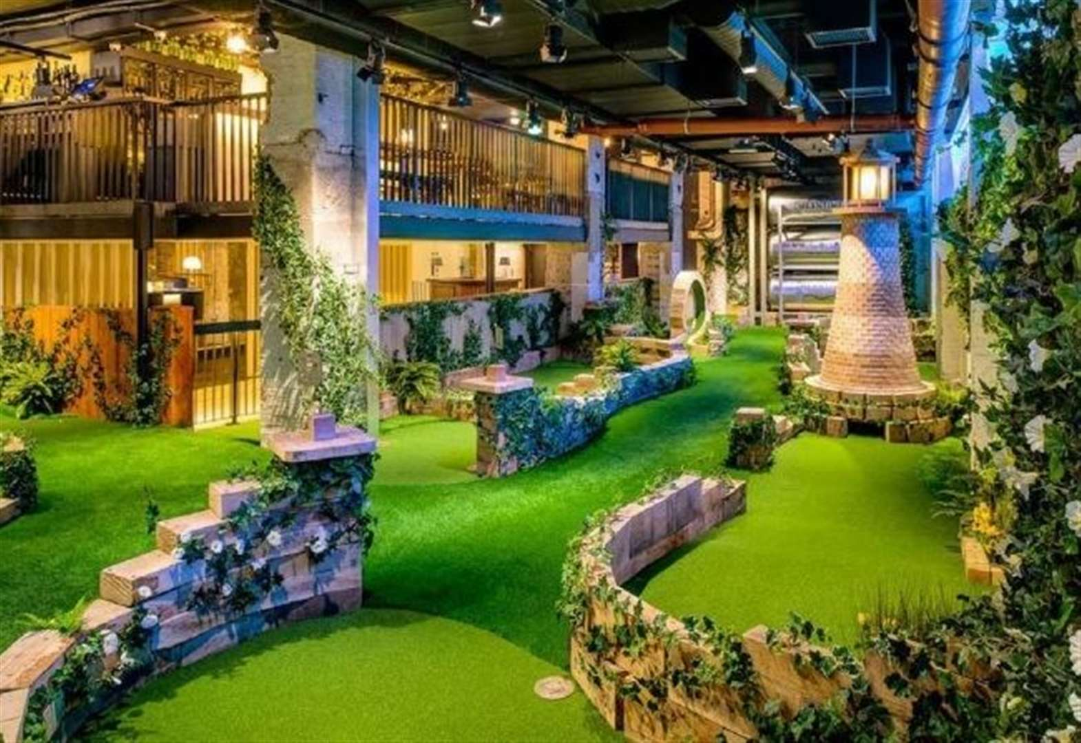 Plans for rooftop restaurant with crazy golf