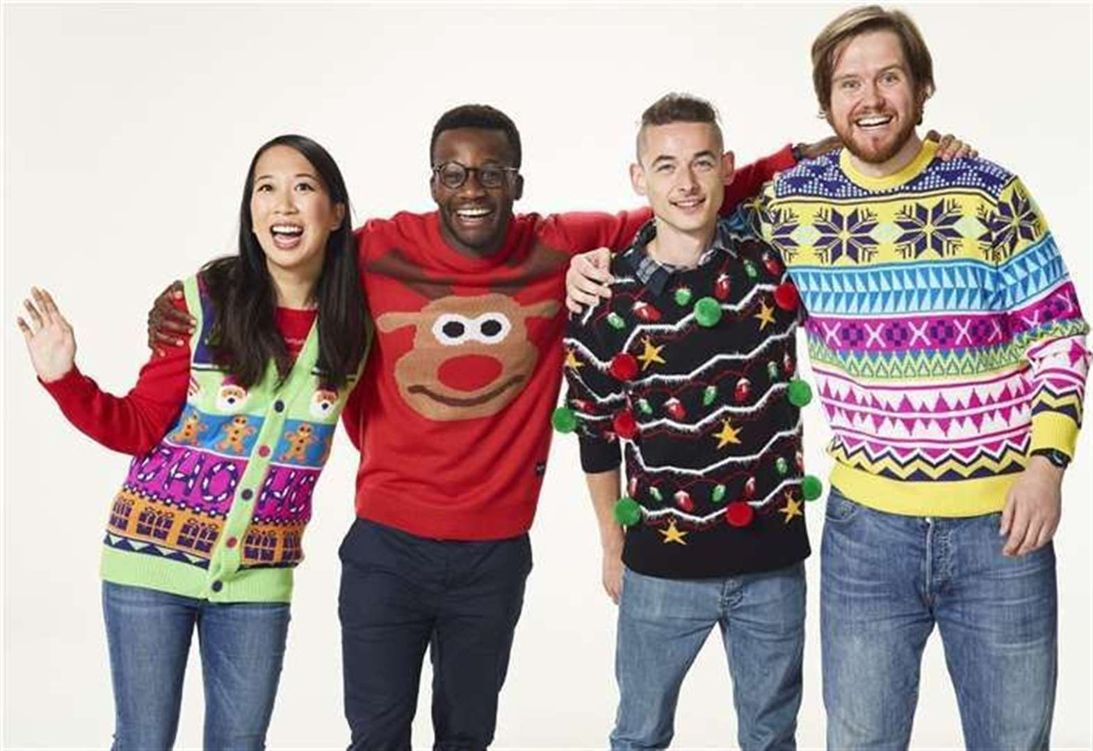 Wear your Christmas jumper with pride