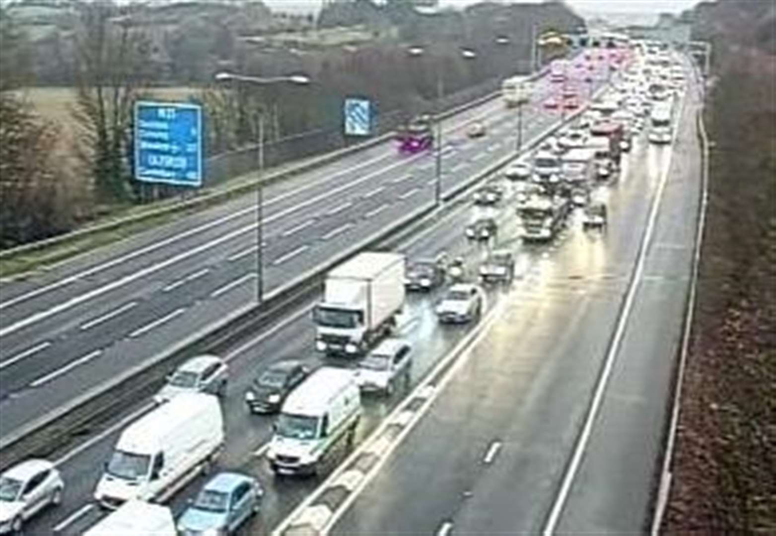 Crashes spark delays on A2 and M25