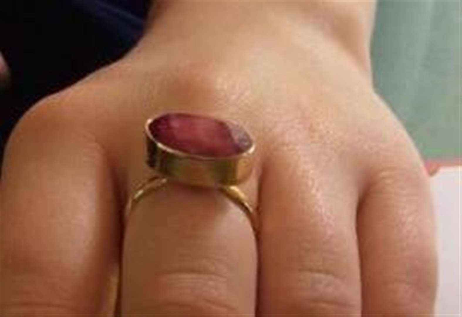 Family's frantic search for ruby ring after freak disappearance