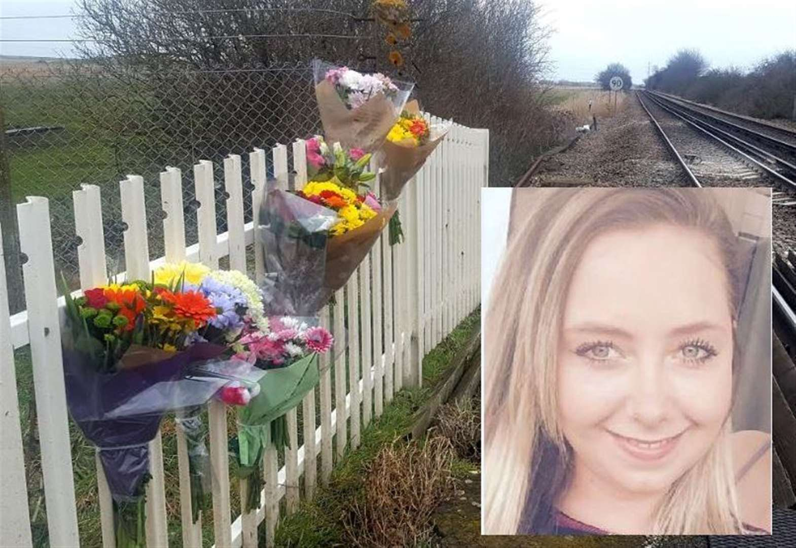 Train driver saw woman hours before tragic death on railway line