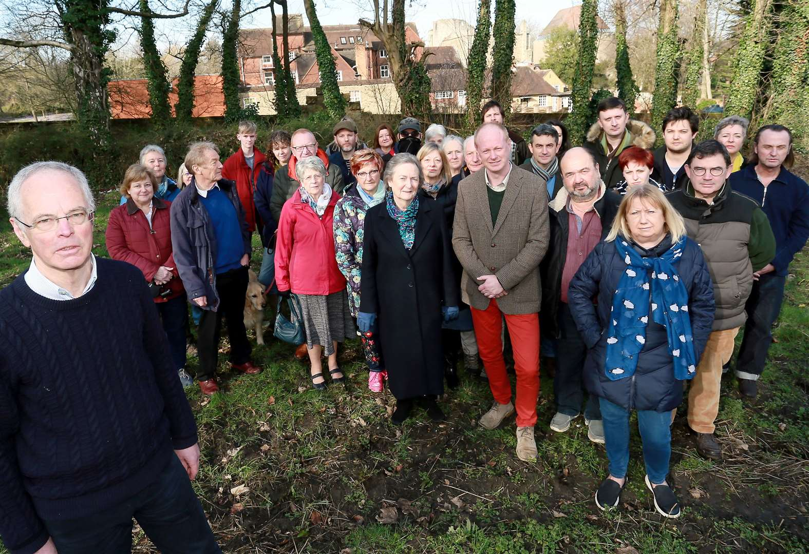 Inquiry into plan for homes next to nunnery