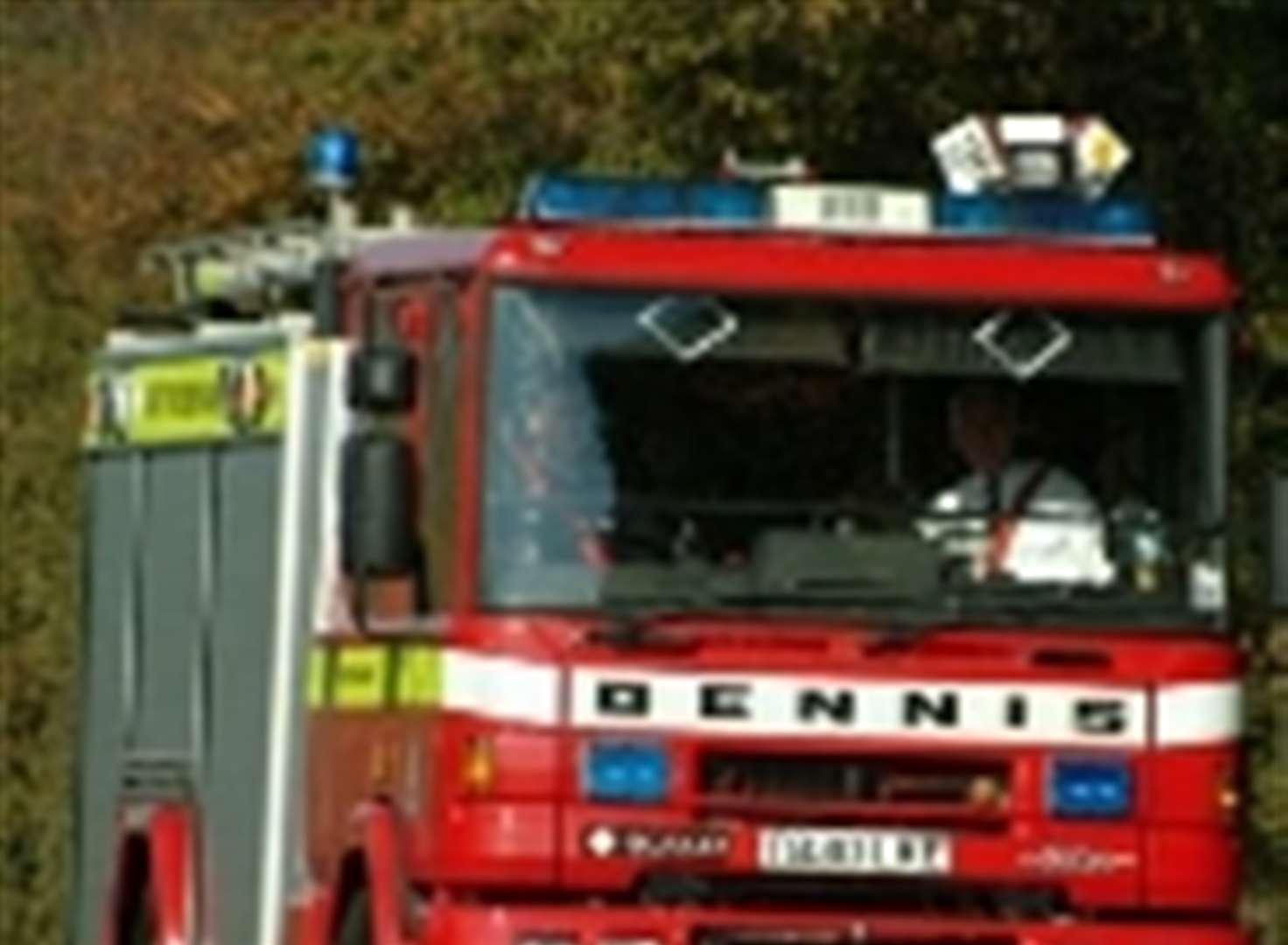 Fire Fuse Box Crews Answer Bathroom Call