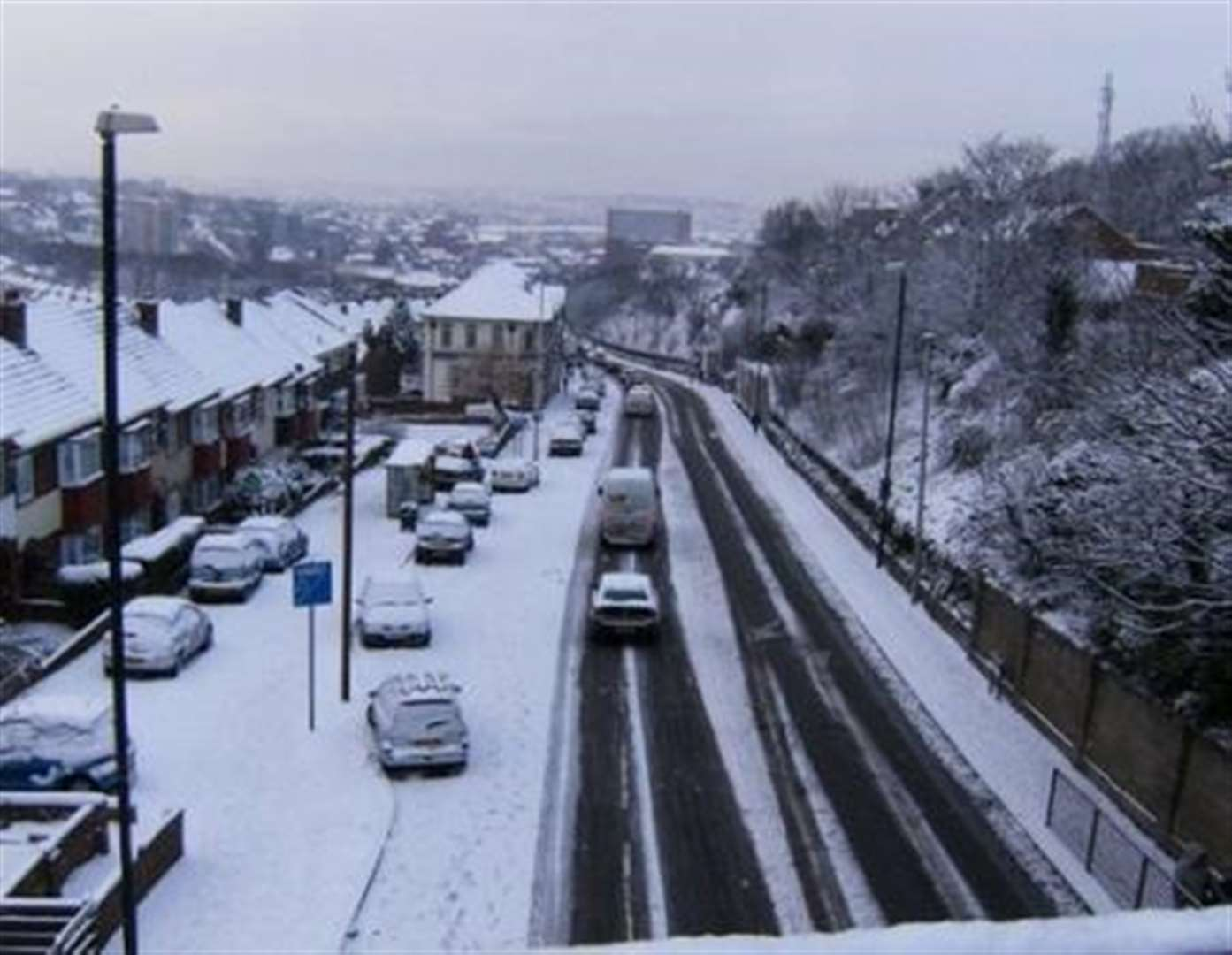Could Kent be hit by snow